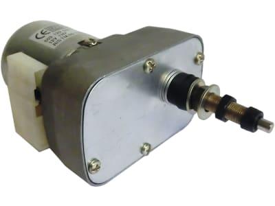 Scheibenwischermotor 12 V Wischwinkel 135 °, schwere Bauart, Ø Welle 6 mm x M 6