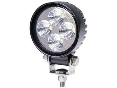 Hella® LED-Arbeitsscheinwerfer rund, 10 – 30 V DC, 12 W, 600 lm, 4 Hochleistungs-LEDs, 1G0 357 000-001