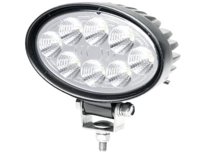 Hella® LED-Arbeitsscheinwerfer oval, 10 – 30 V DC, 24 W, 1.200 lm, 8 Hochleistungs-LEDs, 1GA 357 001-001