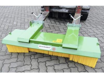 """Düvelsdorf Kehrbesen """"Standard"""" für Gabelzinkenanbau"""