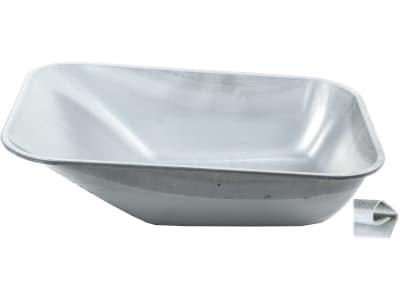 mefro Schubkarrenschüssel 100 l, Metall, verzinkt, ungelocht, 09 1001