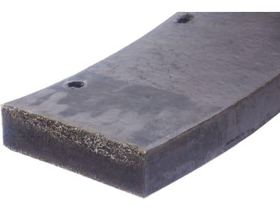 Schürfleistensatz für Beilhack PEV 290, 3.400 x 200 mm, Stärke 50 mm, Gummi