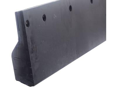 Schürfleistensatz für Beilhack PV 26-3, 3.000 x 190 mm, Stärke 50 mm, Stahl; Gummi; Stahl