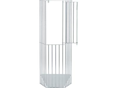 """Growi® Großraum-Heuraufe """"Pidero"""" feuerverzinkt, 80 x 200 x 40 cm, 5974"""