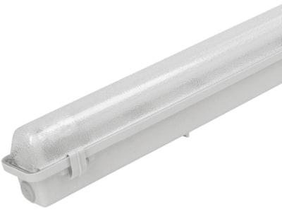 Kerbl Feuchtraum-Wannenleuchte für T8 LED-Röhren mit 26 mm Durchmesser