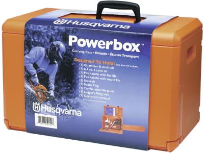 Husqvarna® Motorsägenbox 470 x 240 x 280 mm, für Motorsägen und Zubehör, 5313008-72