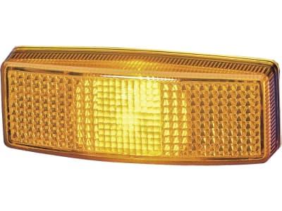 Hella® Lichtscheibe eckig, links/rechts, 110 x 40 mm für Seitenmarkierungsleuchte (Best. Nr. 10066220), 9EL 141 135-031