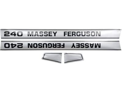 "Aufklebersatz ""MF 240"" für Massey Ferguson, Vergl. Nr. Massey Ferguson: 1681728M2, 1681728M3, 1681729M2, 1681729M3, 3406978M91, 3406978M92"