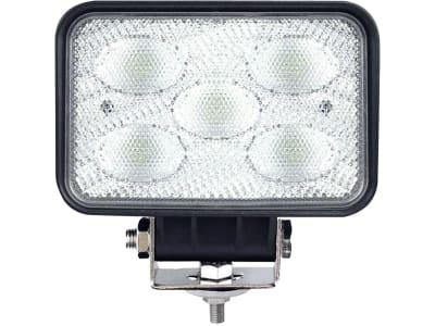 LED-Arbeitsscheinwerfer rechteckig 4.500 lm, 10 – 30 V, 5 LEDs, Funkentstörung Klasse 3
