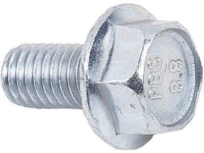 Rippschraube mit Zahnung an Flanschfläche M 8 x  15 mm - 8.8, für AGRIA 3400, 3900, 5400, 5500, 5800, Grizzly, Bison, Taifun, ESM 5620420