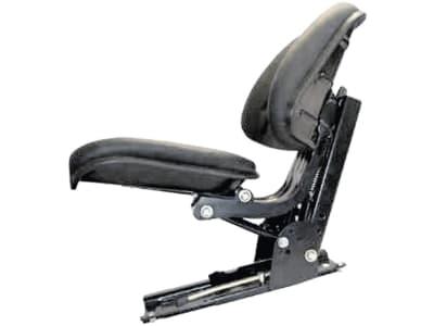 "Traktorsitz ""VS 500"", mechanisch gefedert, hinter Rückenpolster, PVC-Kunstleder, schwarz"