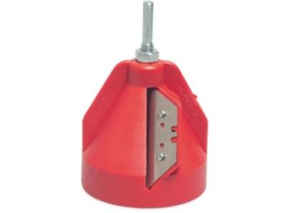 PE-Rohr Anfasgerät rot Passend für 16-63 mm PE-Rohre