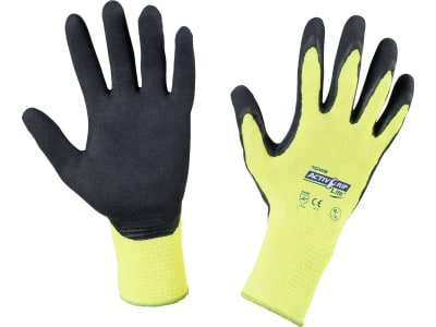"""Keron Handschuh """"Activ Grip Lite"""" Polyester-Feinstrick (13 Gauge) Latexbeschichtung mit MicroFinish®"""