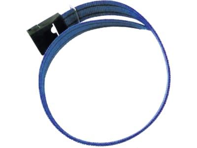 DeLaval Halsband 95 cm, für Kälber mit Transponder, Schnalle mit CN-Ring, 4787201567