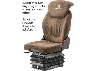 "Grammer Traktorsitz ""Compacto® Comfort S"", luftgefedert, Kunstleder"