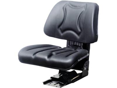 "Traktorsitz ""Vario Seat"", mechanisch gefedert, hinter Rückenpolster, PVC-Kunstleder, schwarz"