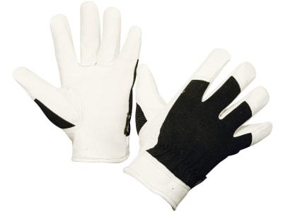 """Keron Handschuh """"Graphix"""" Rindsleder in A-Qualität; Handrücken Spandex"""