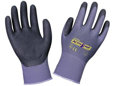 """Keron Handschuh """"Active Grip Advance"""" Nylon-Feinstrick (13 Gauge) Nitrilbeschichtung mit MicroFinish®"""