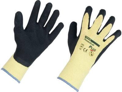 """Keron Handschuh """"PowerGrab Plus"""" Polyester-/Baumwoll-Feinstrick (10 Gauge) Latexbeschichtung mit MicroFinish®"""