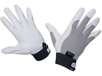 "Keron Handschuh ""Eco-Okuda"" Ziegenleder, chromfrei gegerbt; Handrücken Spandex"