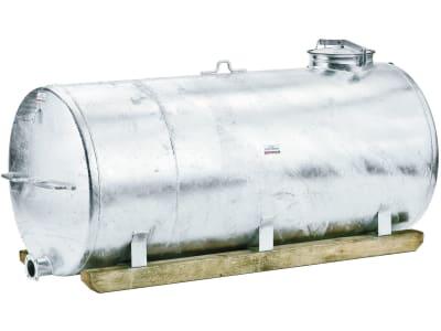 Growi® Wassertank, Stahl, feuerverzinkt, mit Holzkufen