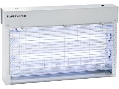 """Kerbl Fliegenvernichter """"Eco Kill Inox 2030"""" 2 x 15 W, blau, max. 150 m², Edelstahlgehäuse, 299931"""