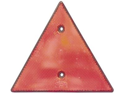 Rückstrahler dreieckig, rot, 158 x 138 x 8 mm, geschraubt