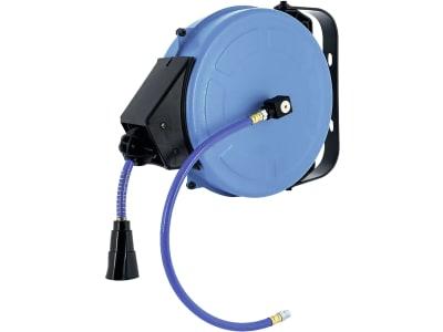 Airpress Schlauchaufroller für Druckluft selbstaufrollend, Wandmontage, 8 x 12 mm, 8 m