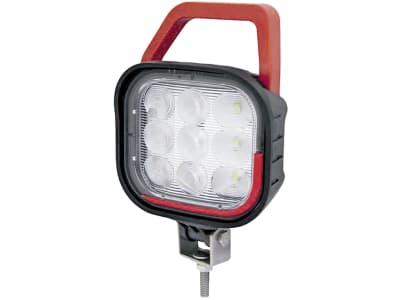 LED-Arbeitsscheinwerfer mit Schalter, Handgriff und Überspannungsschutz, 1.490 lm, 12 – 36 V, 9 LEDs, 098 174 555