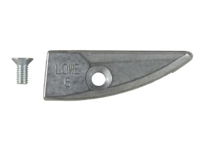 LÖWE Amboss (Unterlage) mit Schraube für Amboss-Schere 6.104