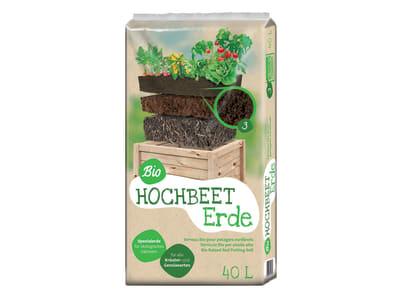 Floragard® Bio Hochbeeterde  40 l Sack