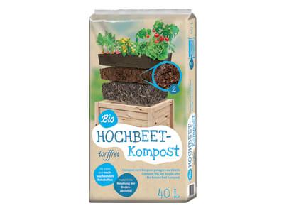 Floragard® Bio-Hochbeet Kompost  40 l Sack