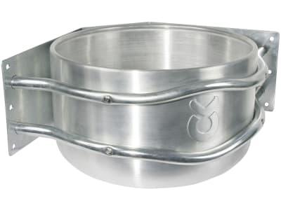 Kerbl Ecktrog 37 x 24 x 37 cm Aluminium, 32496