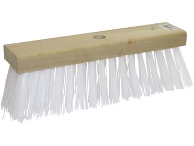 KERBL Ersatzbesen 35 cm, Borstenbesatz Perlon, weiß, für Wasserbesen, 2938