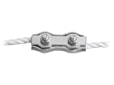 Patura Seilverbinder Stahl, verzinkt, für Weidezaunseile bis 6 mm, 103205