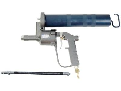 Samoa-Hallbauer Druckluft-Fettpresse DFP 500 mit Gummipanzerschlauch