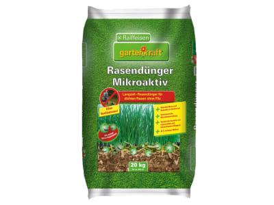 gartenkraft® Rasendünger Mikroaktiv NPK 12+4+8 Spezial- Rasendünger für optimale Sofort- und Langzeitdüngung