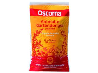 Oscorna® Animalin organischer NPK 7+4+0.5 Naturdünger mit Sofort- u. Langzeitwirkung, für Sträucher, Blumen und Zierpflanzen 20 kg Sack