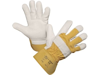 "Keron Handschuh ""Yelltor"" Rindsvollleder/Bauwolle"