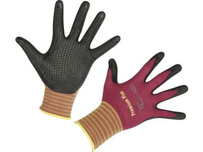 """Keron Handschuh """"Premium Plus"""" Nylon-Feinstrick (15 Gauge) Nitrilschaumbeschichtung"""
