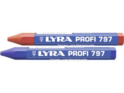 Lyra Signierkreide rot/blau, 12 St.