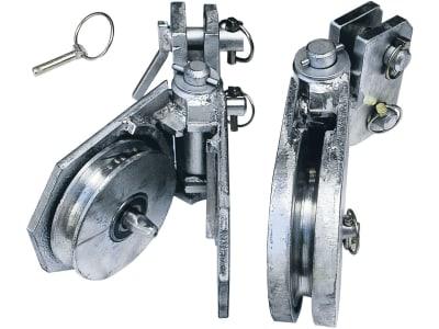 Holzknecht Seileinlaufrolle unten, verstärkt für HS 550, 650, 750, 850, 7 F, 8 UF