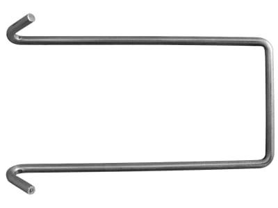 Dr. Reisacher Hakenbügel für Endpfahl P5E 3 mm