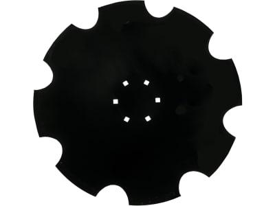 Hohlscheibe gezahnt, Bohrung 4-kant, 620 mm x 6 mm, LK 130 mm, Vergl. Nr. 349 0466