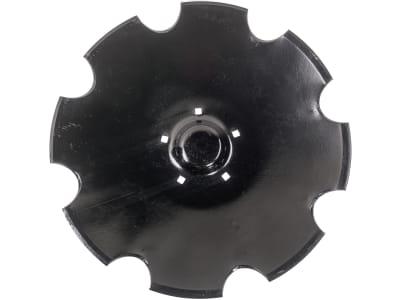 Hohlscheibe gezahnt, Bohrung 4-kant, 620 mm x 6 mm, LK 160 mm, Vergl. Nr. 349 0467