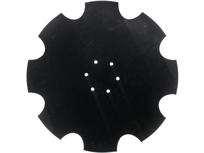Hohlscheibe gezahnt, Bohrung rund, 460 mm x 5 mm, Vergl. Nr. 349 0471