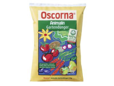Oscorna® Animalin organischer NPK 7+4+0.5 Naturdünger mit Sofort- u. Langzeitwirkung, für Sträucher, Blumen und Zierpflanzen