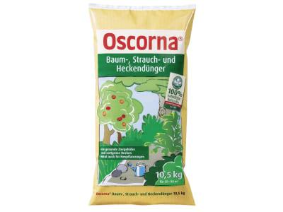 Oscorna® Baum Strauch und Heckendünger, spezieller NPK 6+4+0.5 Naturdünger 10,5 kg Sack