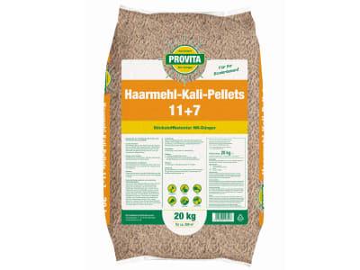 Beckmann Profi Provita® Haarmehl-Kali Pellets 11+7  20 kg Sack