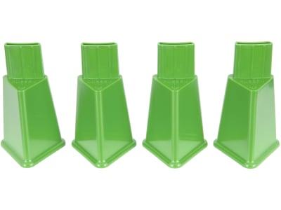 Stükerjürgen Standfüße Kunststoff grün, für Futterautomat 2,5 und 4 kg